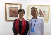 周国华与中国工艺美术大师陈水琴