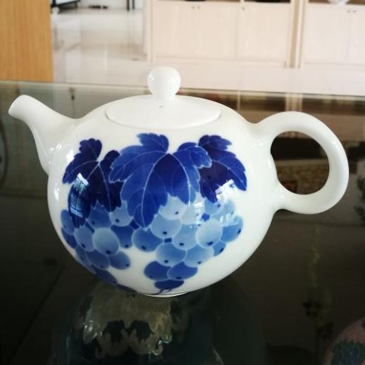青花小茶壶茶具餐具定制